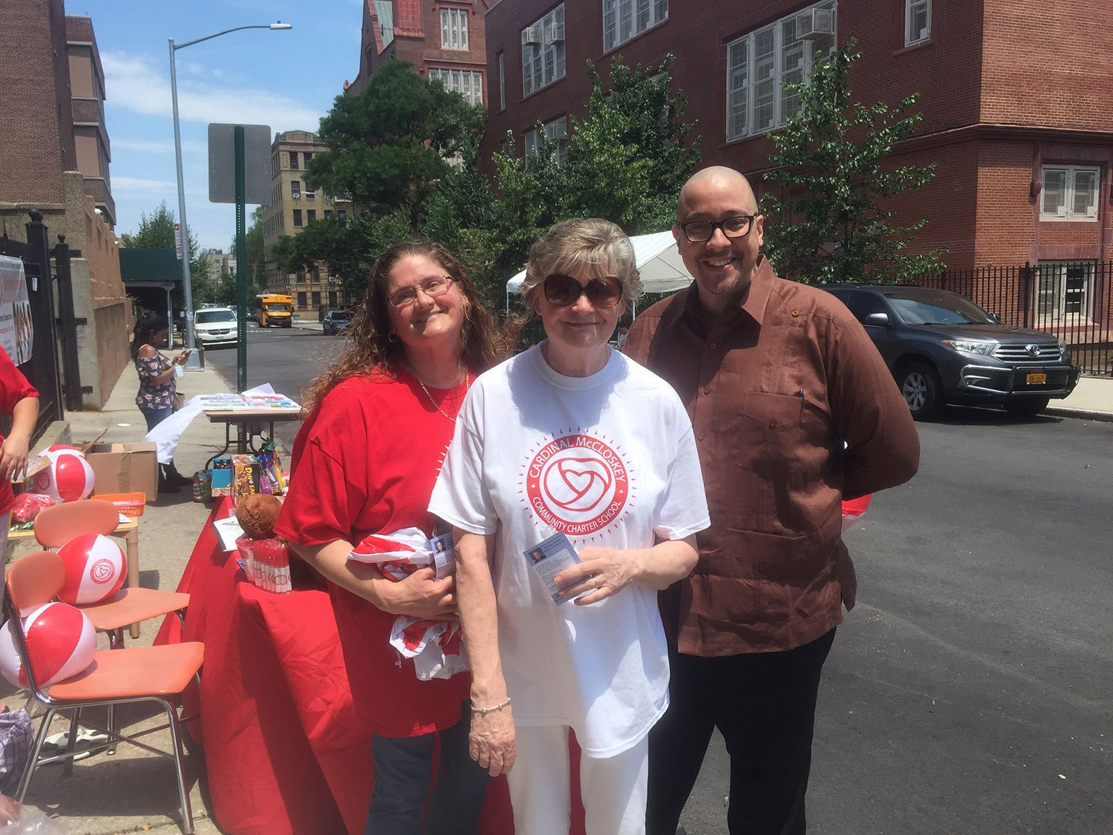 New York State Senator Gustavo Rivera attended the Block Party